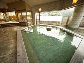 ホテル河鹿荘 6階女性大浴場「清流の湯」