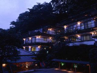 ホテル仙景 ホテル夕景