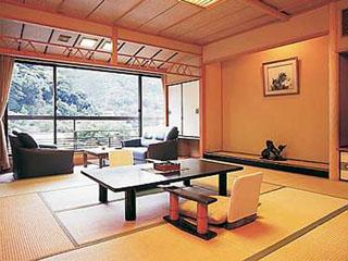 ホテル仙景 明るい客室(一例)