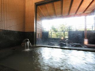 華の宿ふくや 男女別大浴場は夕食後からは家族風呂(貸切)となります