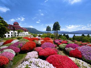 小田急 山のホテル 1948年創業。芦ノ湖と富士山を臨む箱根屈指のクラシカルホテル。