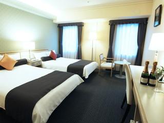 新横浜国際ホテル スタイリッシュでシンプルな客室