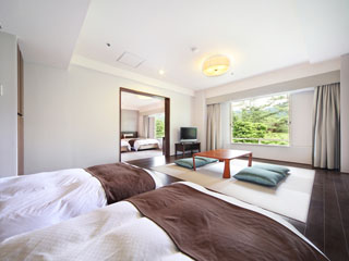 箱根ホテル小涌園 コンパクトなスタンダードツインからスイートまで旅のスタイルに合わせて選べる客室