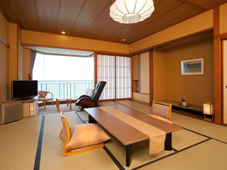 夕映えの宿汐美荘 本館客室(12.5畳+ベランダ)