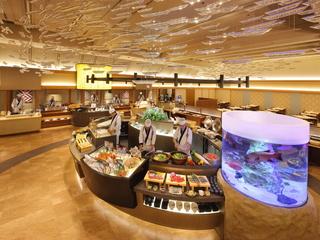 宇奈月 杉乃井ホテル 日本海 漁港朝揚げバイキングレストラン 「Seeds(シーズ)」