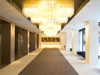 ホテルふじ 2008年にリニューアルしました、フロント・ロビー・エントランス