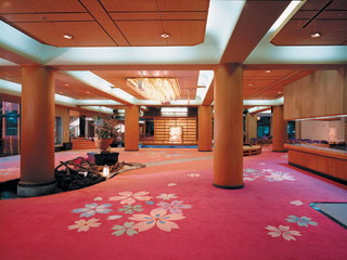 ホテル鐘山苑 ロビー