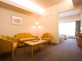ホテルアンビエント蓼科 ゆったりと寛げる広めの客室