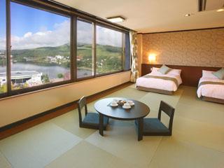 白樺リゾート池の平ホテル 2012年7月7日にリニューアルオープンした畳リゾート 和みルーム