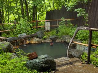 匠の宿 深山桜庵 大自然に囲まれた貸切風呂で森林浴をお楽しみ下さい