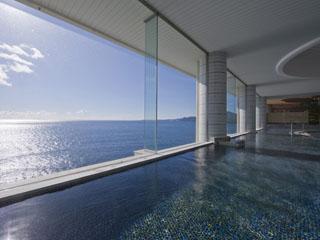 海一望絶景の宿 いなとり荘 男性大浴場