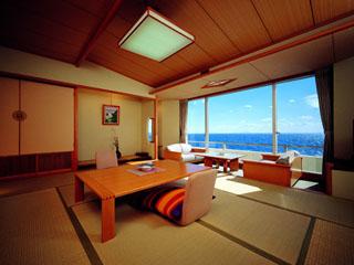 海一望絶景の宿 いなとり荘 客室