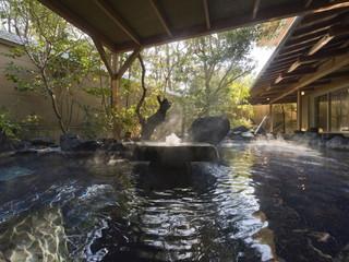 季一遊 女性大浴場の露天風呂