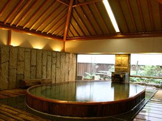 嵯峨沢館 内風呂 蔵の湯
