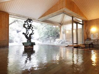 星野リゾート 界 伊東 古代檜の香りが爽やかな内湯