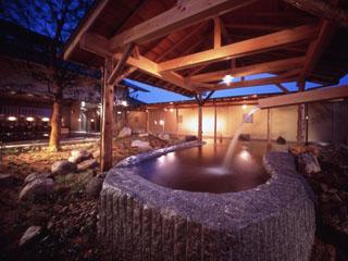 ガーデンホテルオリーブ 天然温泉の大浴場でゆったりくつろげます