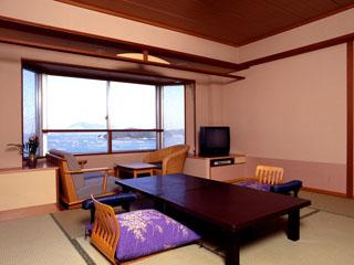 サン浦島悠季の里 海を眺める和室(一般客室)