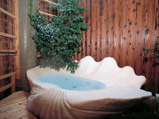 戸田家 無料貸切風呂「しゃこ貝風呂」