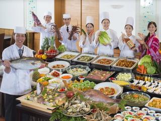 鳥羽グランドホテル 地元食材を使用した会席料理やバイキングとバリエーション豊か