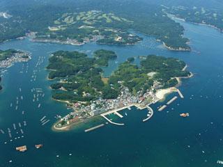 磯部わたかの温泉 福寿荘 船で3分南の島
