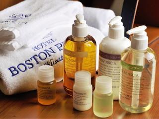 ホテルボストンプラザ草津びわ湖 アメニティは「プロヴァンシア」。甘い香りで至福のひと時を