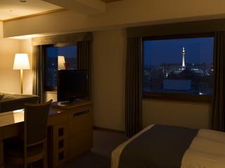 アランヴェールホテル京都 客室からの眺望