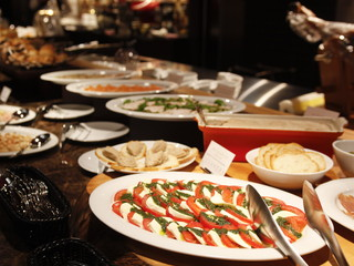 京都センチュリーホテル 和洋朝食バイキングでは朝からスイーツも楽しめる