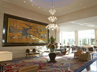 ウェスティンホテル大阪 ヨーロピアンクラシックを基調にしたインテリアの数々