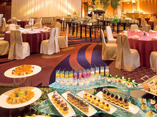 ヒルトン大阪 格調高い宴会場は、様々なビジネスシーンにご利用可能。最大収容人数1000名
