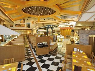 ホテル京阪ユニバーサル・シティ ラスベガスからやってきた、世界の料理が楽しめる、本格バイキングレストラン