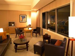 ホテル京阪ユニバーサル・タワー 30階に位置するジュニアスイートルーム