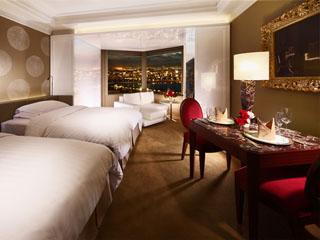 ホテル阪急インターナショナル 窓辺のエアーテラスが魅力のスーペリアツインプレミア