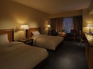 リーガロイヤルホテル 2012年4月にリニューアルした「デラックスフロアー」の客室