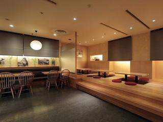 三井ガーデンホテル大阪淀屋橋 レストラン味菜蔵(あなくら)。夜は和風創作居酒屋となります