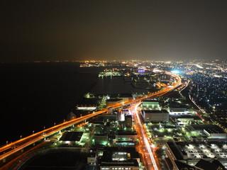 スターゲイトホテル関西エアポート 北側大阪方面の夜景