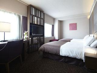 大阪新阪急ホテル ベッドやアメニティにこだわった「ラグジュアリーツイン」で快適な眠りを☆