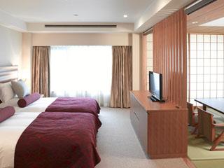 ホテルオークラ神戸 和のくつろぎと快適性が融合した和洋コンフォートルーム