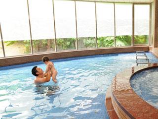 ホテルグリーンプラザ東条湖 大浴場でリフレッシュ