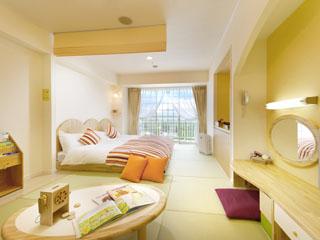 ホテルグリーンプラザ東条湖 お部屋のタイプは5種