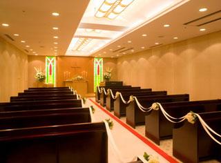 ホテルパールシティ神戸 幅広いスタイルのウエディングをサポートするウエディング・チャペル