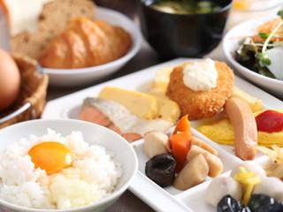 神戸三宮ユニオンホテル 健康志向の和食を中心とした朝食バイキング