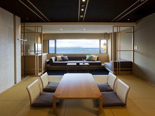 淡路インターナショナルホテル・ザ・サンプラザ 上質の海空間を。1室限定の準特別室