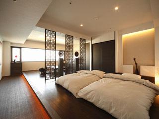 淡路インターナショナルホテル・ザ・サンプラザ 波の音を感じるがコンセプト、5タイプ11室の特別フロア