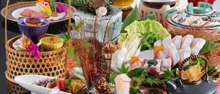 白浜館 天然コラーゲンたっぷりで、ゼラチン質のプルプルッとした食感が楽しめるクエ会席