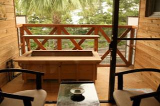 白浜館 のんびりと寛げる足湯付客室