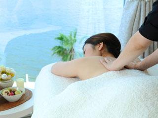 グランドプリンスホテル広島 【スパ ザ ブルー プリンス】海の恵みたっぷりのスパトリートメントで至福の時間