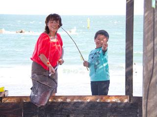 ルネッサンスリゾートナルト 海を眺めながら鳴門鯛など高級魚釣りを満喫