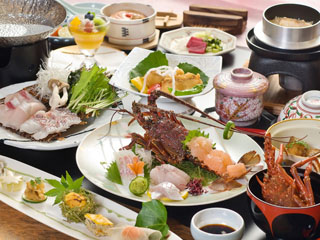 道後御湯(旧:宝荘ホテル) 瀬戸内の旬の食材を利用した高評価の本格会席