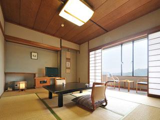 和多屋別荘 12階建ての「タワー館」客室