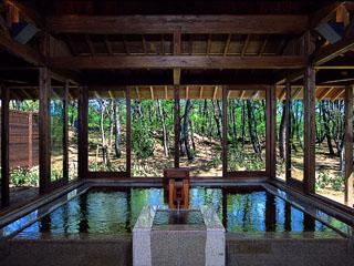 シェラトン・グランデ・オーシャンリゾート 松林に囲まれた温泉「松泉宮」で疲れを癒して